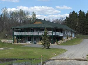 Executive Home & 82 Acres in Beautiful Haliburton Highlands Area