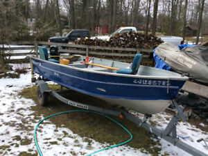 14 foot Starcraft deep v hull with 25 hp merc