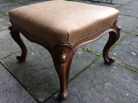 Antiques Victorian foot stool