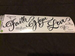 Wall Creations/Decals, inspirational quotes for wall decorating.