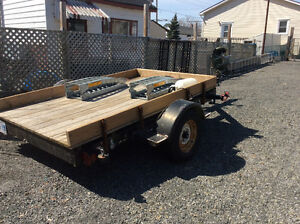 *******HEAVY DUTY UTILITY TRAILER-WILL TAKE A SERIOUS LOAD*****