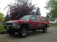 1992 Toyota 4 x 4 SR5 Extended Cab Pickup Truck