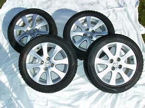 4 Aluminium Alloy Rims (15x6) & Tires