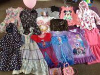 Girls Bundle 7 - 8 years inc Next & Disney Frozen 17 items