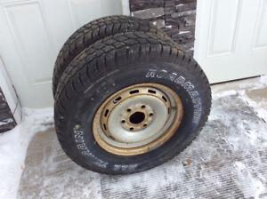 All Terrain Road Master Tires  LT245/75R16