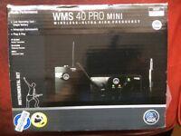 AKG WMS40 wireless instrument system (Guitar, Bass)