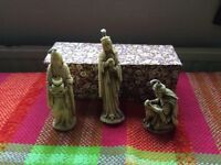 Beautiful Wisemen candle set