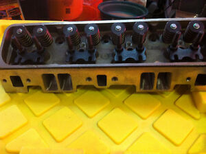 Dart cylinder heads with 87 - 94 SBC intake face