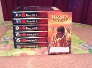 """SET OF 7  """"ROOTS"""" VIDEO SERIES BY ALEX HALEY"""