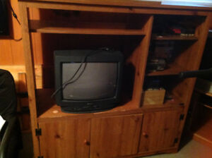 Wall Unit and TV