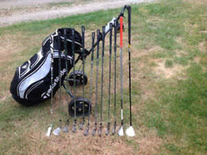 Taylormade and cobra clubs OBO