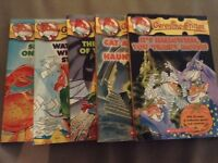 5 Geronimo Stilton books