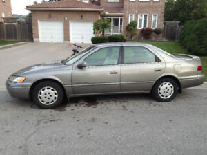 1997 Toyota Camry LE , solid body well maintained and runs well.