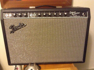 Fender Deluxe Reverb RI Blackface handwired Clara Amplification