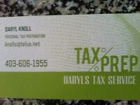 Income tax preparation service-starts at $40
