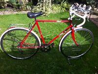"Retro challenge road bike 21"" frame"