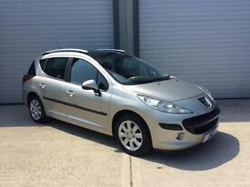 2009 Peugeot 207 SW 1.6 HDi S 5dr (a/c)