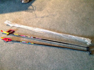 Brand New NORDIC Hiking, walking or Trekking Poles... 56""