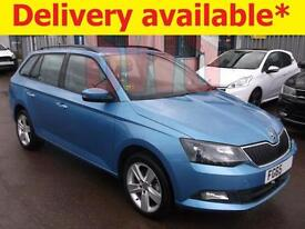2015 Skoda Fabia Auto SE L TSi S-A 1.2 DAMAGED REPAIRABLE SALVAGE