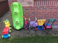 Variety garden toys £ 12.00