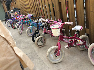 GRE AT SELECTION KIDS BIKES GREAT PRICES!!!!!