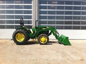 Reduced by $19,000!  John Deere 5055E Tractor  Loader Edmonton Edmonton Area image 1