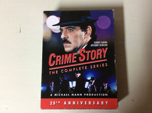 Crime story the complete series. D.V.D.