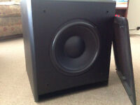 KEF Subwoofer with built in AMP