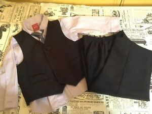 Four Piece Outfit with Tie - 18-24m