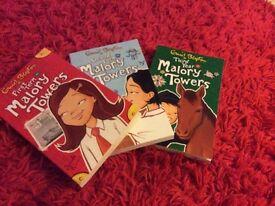Malory Towers set of three books