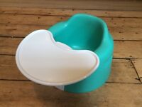 Bumbo with play tray in good used condition.