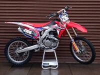 Honda CRF 450 R 2016 *Low Hours* Nationwide Delivery Available *Credit & Debit Cards Accepted*