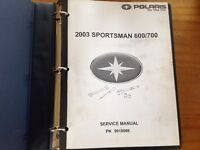 Shop manuel polaris sportman 600/700, 2003