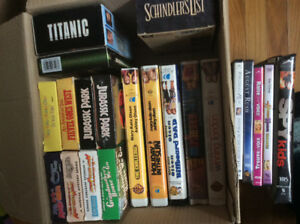 45 - VHS Tapes and DVD's - $1 each!