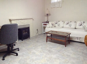 Furnished one bedroom suite available now.