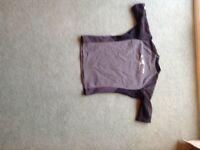 Oneill men's large short sleeved wetsuit shirt 1/2 MM.