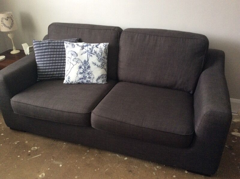 Dfs Vision Sofa Armchair And Footstool Urgent Priced To