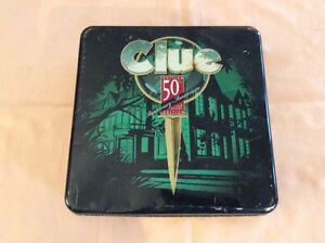 Clue 50th anniversary Game