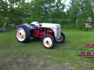 1949 FORD 8N with Fine cut mower Priced to sell