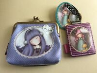 Santoros coin purse and key ring