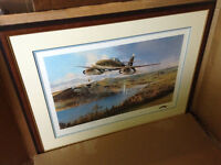 Robert Taylor The Bridge at Remagen Signed Aviation Print