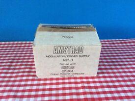 Vintage Amstrad Modulator Power Supply MP-1 For CPC464