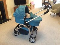 ICandy Cherry Pushchair & Carry Cot, with Footmuff