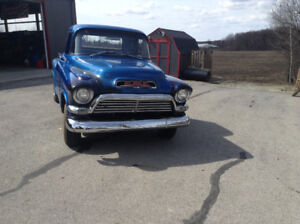 1955 to 1959 GM - Chev Truck Parts -  Two Rolling chasis plus