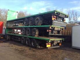 DON BUR TRI AXLE FLAT TRAILER