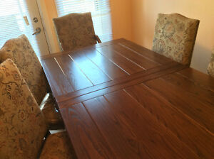 Real Wood Dining Room Set West Island Greater Montréal image 6