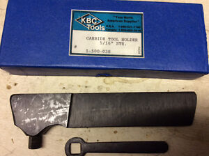 Carbide tool holder, Sicamous bc.