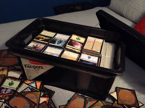 Huge 8, 000 MTG card Lot!!!!! Mythics, Cases, Deck Box!!!!!! Cambridge Kitchener Area image 2