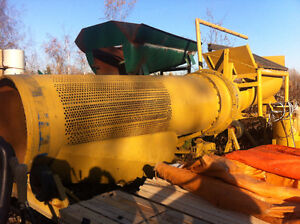 Gold Trommel complete with grizzly and spray bars 60yards per hr