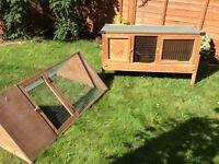 Guinea Pig hutch and run